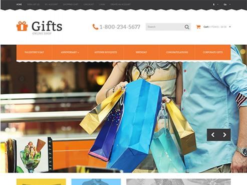 Mẫu web bán quà tặng cho người đặc...