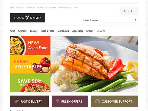 Mẫu web nhà hàng châu âu